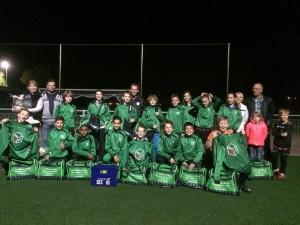 A.Hilhorst Metaal is de tassen sponsor van het team D1 van VV Sec te Soest